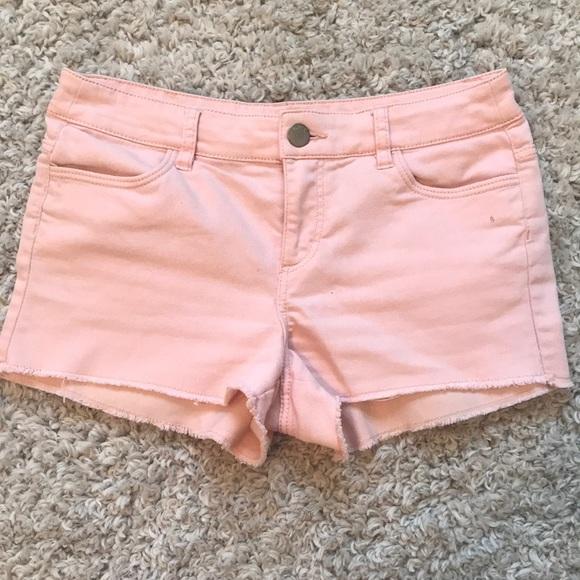 H&M Pants - Pink Jean Shorts